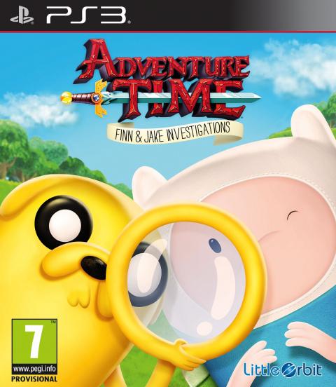 Adventure Time : Finn Et Jake Mènent L'enquête sur PS3
