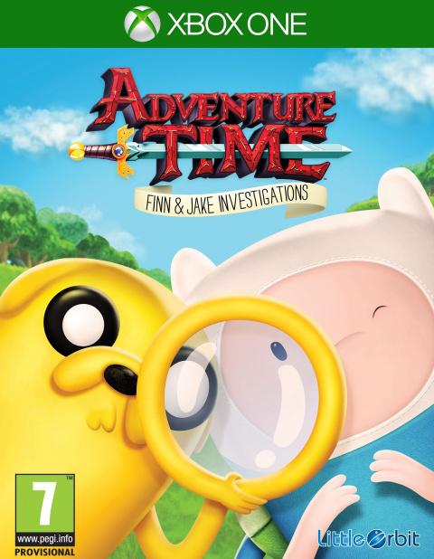 Adventure Time : Finn Et Jake Mènent L'enquête sur ONE