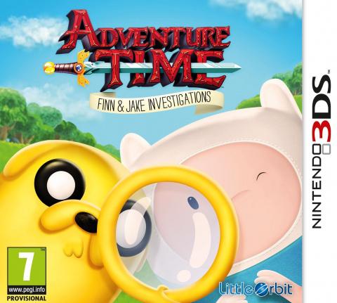 Adventure Time : Finn Et Jake Mènent L'enquête sur 3DS