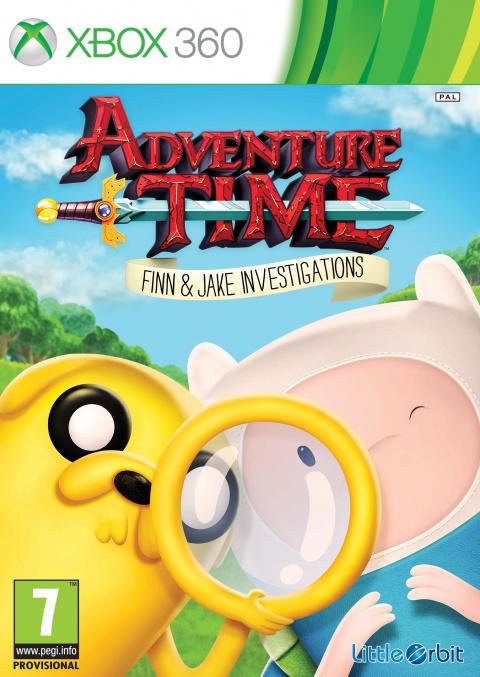 Adventure Time : Finn Et Jake Mènent L'enquête sur 360