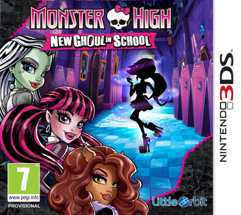 Monster High : New Ghoul in School sur 3DS