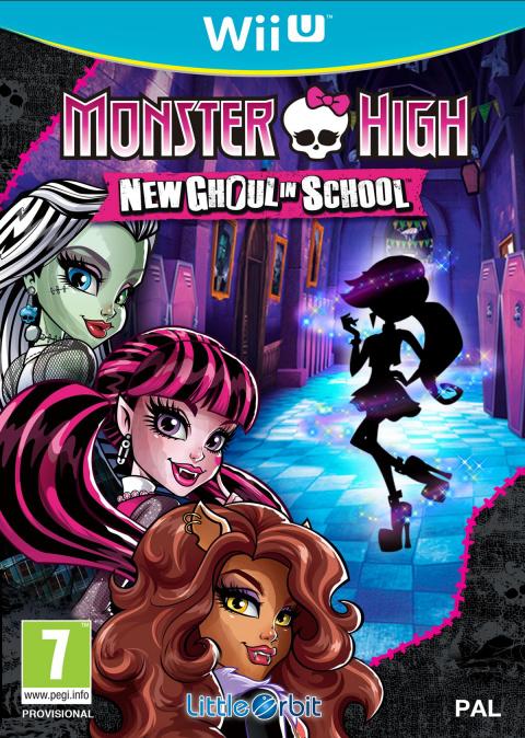 Monster High : New Ghoul in School sur WiiU
