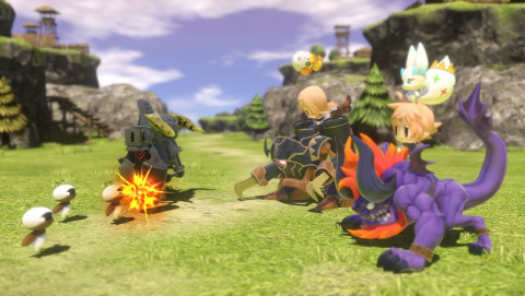 World of Final Fantasy - Quand Pokémon rencontre Final Fantasy