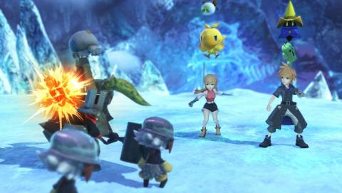 E3 2015 : World of Final Fantasy, à quoi ça ressemble ?