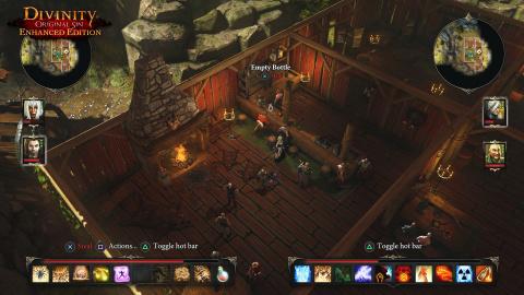 Divinity Original Sin Enhanced Edition, on y a joué sur consoles : E3 2015