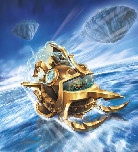 Skylanders Superchargers, toujours plus d'artworks