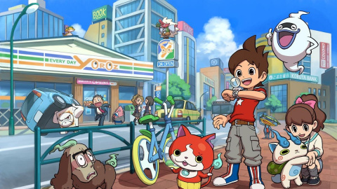Jaquette de YôKai Watch : 10 minutes de gameplay sur 3DS