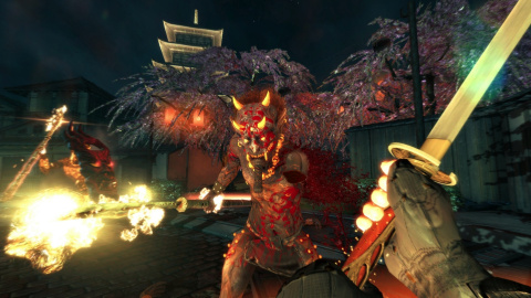 Jaquette de Shadow Warrior 2 montre son gameplay en vidéo (indice : c'est un peu violent)