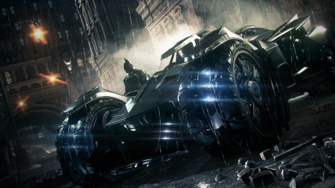 Jaquette de Batman Arkham Knight : La Batmobile en impose