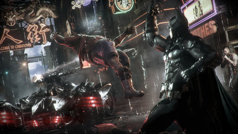 "Jaquette de Batman Arkham Knight - 3/3 : Mode combat ""ON"""