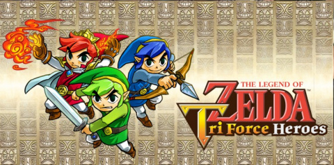 Jaquette de The Legend of Zelda TriForce Heroes : 15 minutes de gameplay