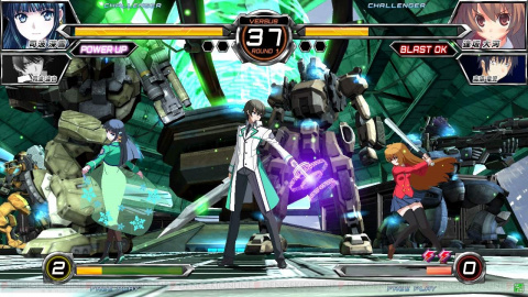Jaquette de Dengeki Bunko : Fighting Climax Ignition, du gameplay en vidéo