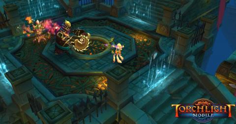Premières images de Torchlight sur mobiles