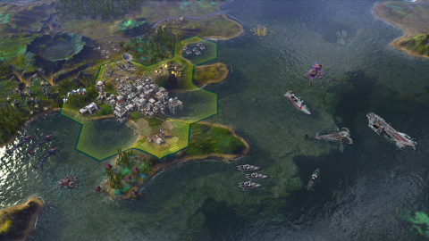 Jaquette de Beyond Earth - Rising Tide : Un peu de gameplay