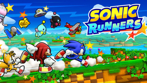 Jaquette de Sonic Runners, brise nostalgique pour surplace supersonique