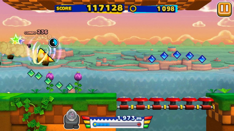 Sonic Runners, brise nostalgique pour surplace supersonique