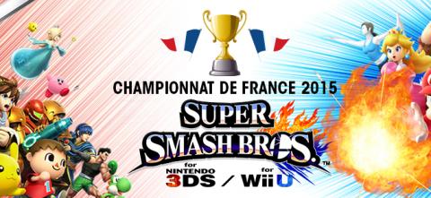 Jaquette de Le championnat de France Super Smash Bros. à Japan Expo samedi