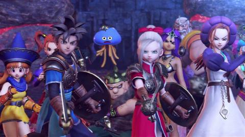 Jaquette de Retour aux sources pour Dragon Quest XI