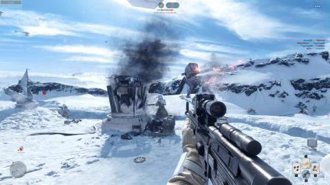 Selon DICE, Star Wars Battlefront n'emprunte rien à Battlefield
