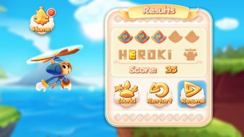 Heroki, réussite en plein vol