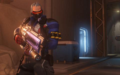 Overwatch : Découvrez le Soldat 76