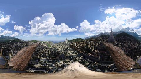 Warcraft : Voler au-dessus d'Azeroth à 360 degrés : C'est possible !