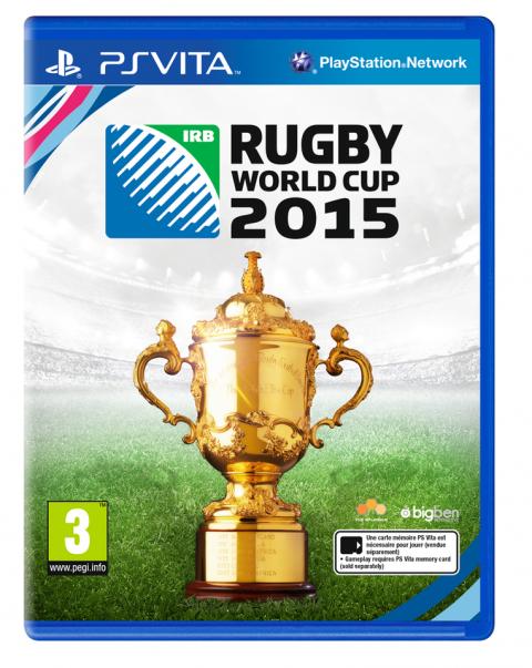Rugby World Cup 15 sur Vita