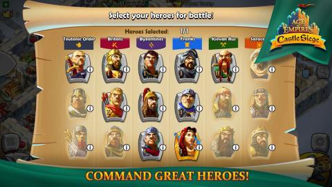 Age of Empires Castle Siege : La célèbre franchise débarque sur iOS