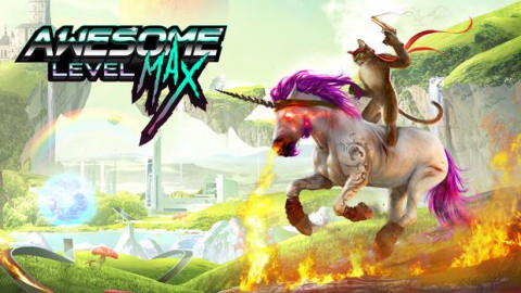 Jaquette de Trials Fusion se la joue licorne avec Awesome Level MAX !