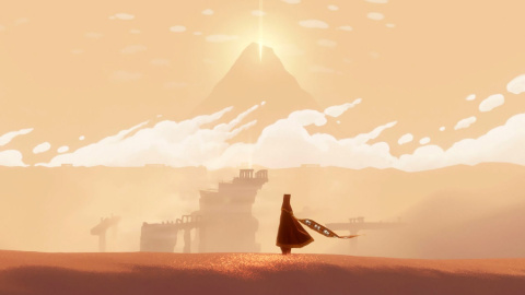 Jaquette de Journey : 7 minutes de gameplay en 1080p pour la version PS4