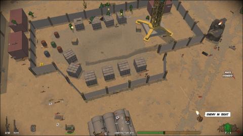Running with Rifles - Un jeu tactique aux immenses champs de bataille