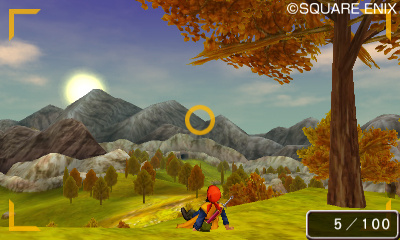 Dragon Quest 8 : le mode photo illustré sur 3DS