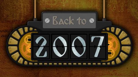 Back to 2007 : L'année 2007 en jeux et en hits de l'époque