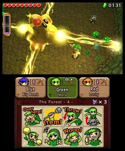 The Legend of Zelda Tri Force Heroes : L'union fait la force