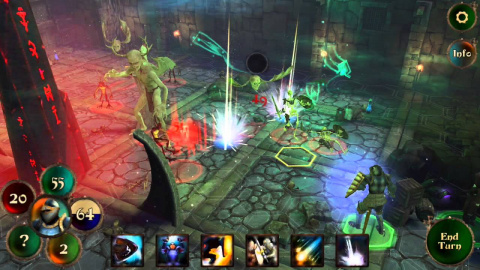 Jaquette de Demon's Rise : Conquest of the Deep - Du gameplay pour ce strategy-RPG sur iOS