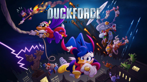 Jaquette de The Duckforce Rises, le nouveau RPG de Disney