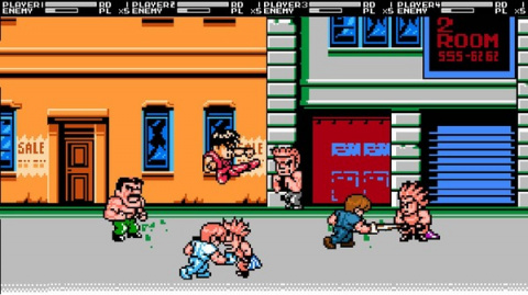 Jaquette de Oldies : Mighty Final Fight casse la baraque sur Nes
