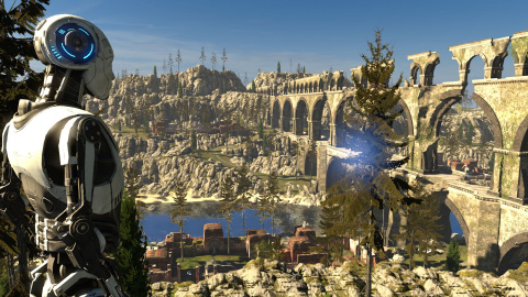 Jaquette de The Talos Principle daté sur PS4