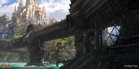 Annulé, Jak 4 dévoile aujourd'hui des concept art