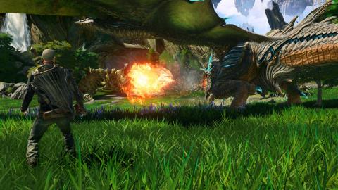Scalebound, dragons et humains main dans la main : gamescom