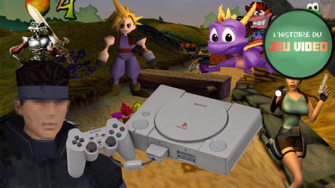 L'histoire du jeu vidéo - La Playstation