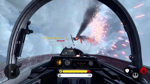 gamescom : Star Wars Battlefront présente son mode Fighter Squadron
