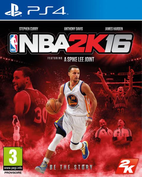 NBA 2K16 sur PS4