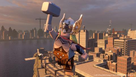 gamescom : LEGO Marvel's Avengers attendra janvier 2016