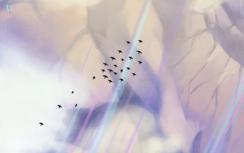 Gathering Sky - Un jeu aérien et contemplatif