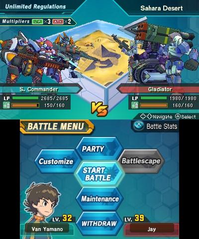 Little Battlers eXperience : Le RPG à la sauce mécha