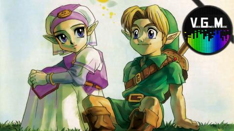 VGM : Zelda : Ocarina of Time - du concentré de nostalgie dans un écran-titre