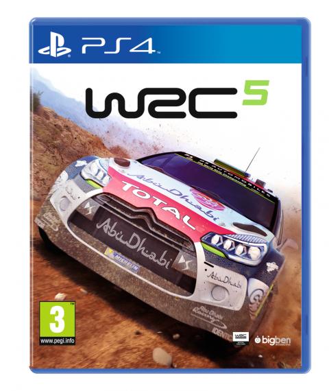 WRC 5 sur PS4