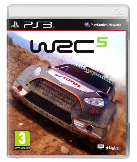 WRC 5 sur PS3