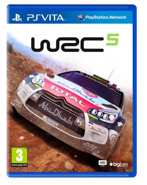WRC 5 sur Vita
